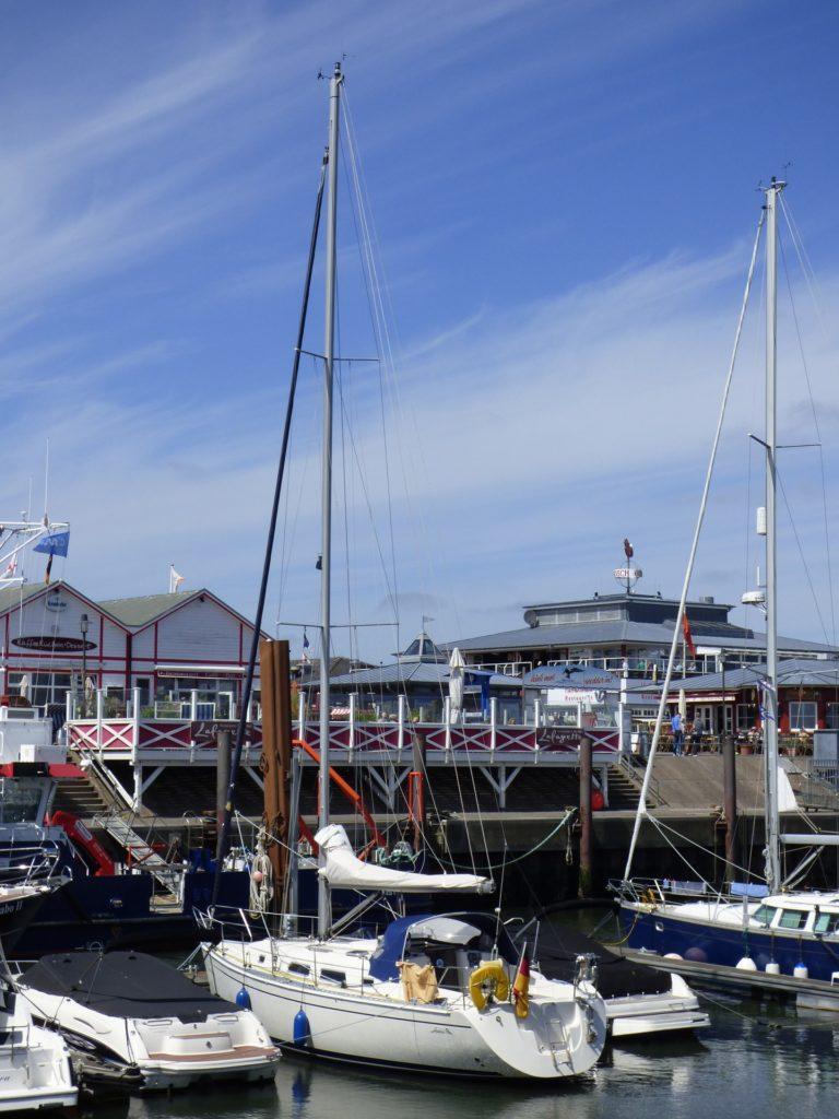 Lister Hafen auf Sylt