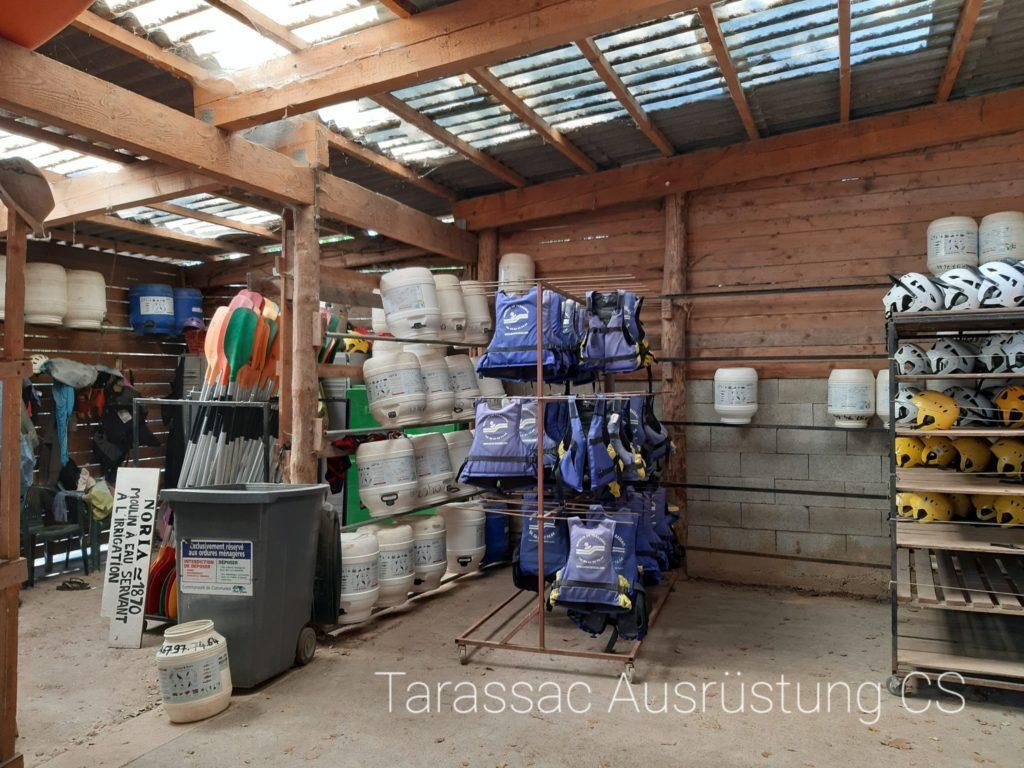 Tarassac Ausrüstung