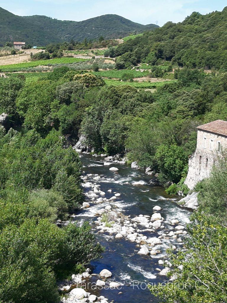 Von Tarassac nach Roquebrun auf dem Orb
