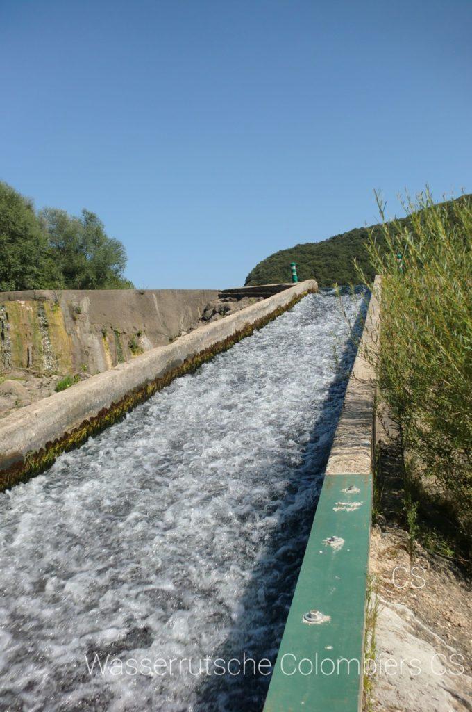 Wasserrutsche Colombiers