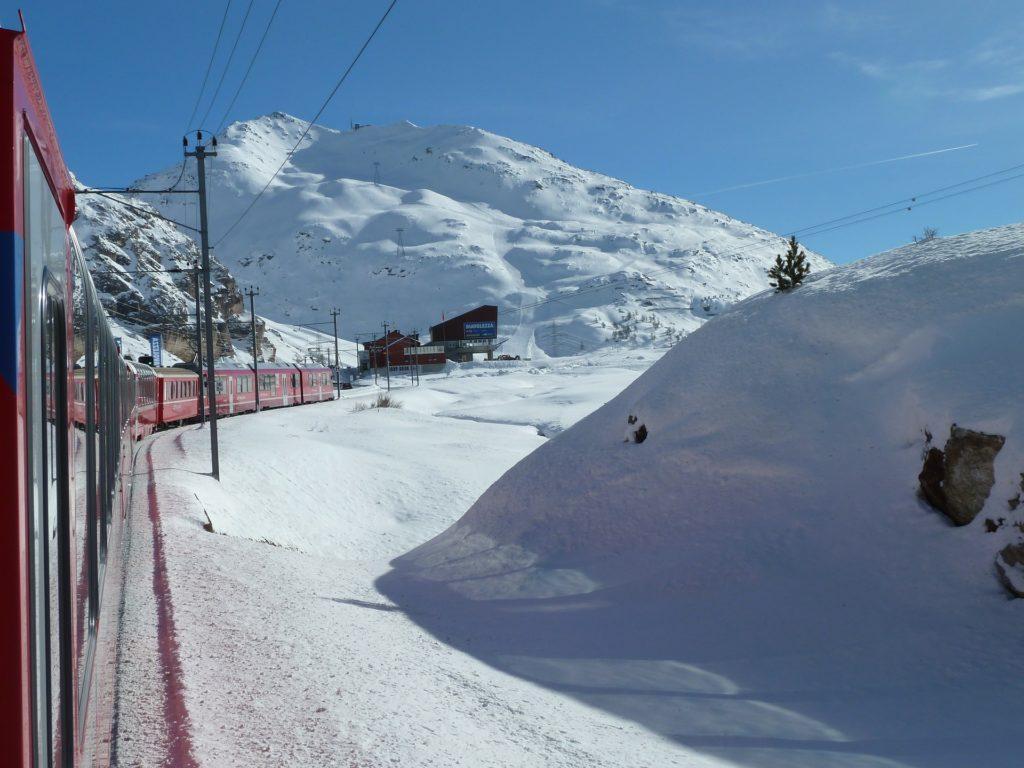 Glacier-Express, Graubünden, Schweiz