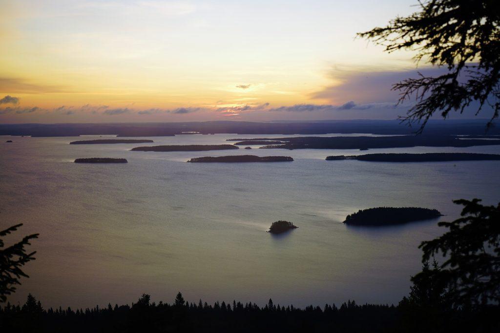 See in der Region Koli in Finnland