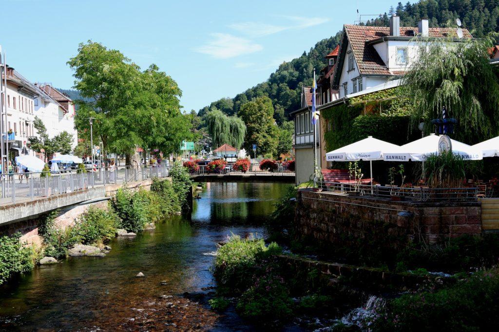 Bad Wildbad im Schwarzwald