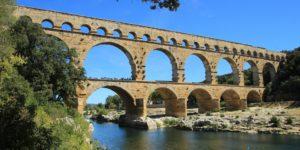 Pont du Gard im Languedoc, Südfrankreich