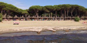 Strand in Sardinien, Italien