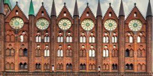 Das Rathaus von Stralsund