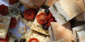 Italien Essen und Trinken: Focaccia